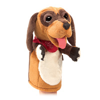 Folkmanis - Dog Stage Puppet