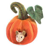 Folkmanis - Mouse in Pumpkin Puppet