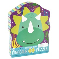 Floss and Rock - Dinosaur Puzzle 12pc