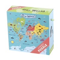Mudpuppy - Our World Jumbo Puzzle 25pce