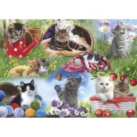 Gibsons - Cats Large Piece Puzzle 12pc