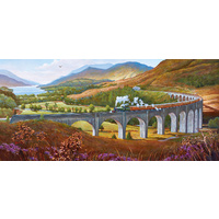 Gibsons - Glenfinnan Viaduct Panorama Puzzle 636pc