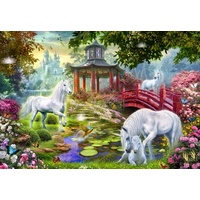 Holdson - Gallery, Unicorn Summerhouse Large Piece Puzzle 300pc