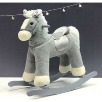 RockMe - Rocking Horse with Sound - Grey