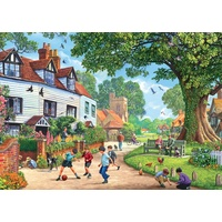 Jumbo - Around Britain Brenchley Village Puzzle 1000pc