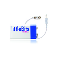 Little Bits – 9V battery & Cable