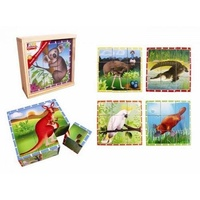 Fun Factory - Australian Animals Cube Puzzle