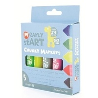 Micador - Early Start Chunky Markers (5 pack)