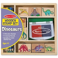 Melissa & Doug - Dinosaur Stamp Set