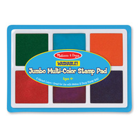 Melissa & Doug - Jumbo Multi-Colour Stamp Pad