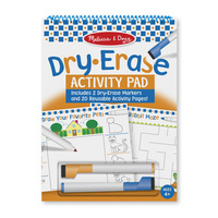 Melissa & Doug - Dry Erase Activity Pad