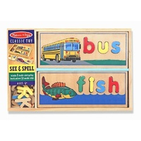 Melissa & Doug - See and Spell Puzzle