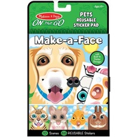 Melissa & Doug - On The Go - Make-a-Face - Pets