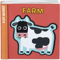 Melissa & Doug - Soft Shapes Foam Book - Farm