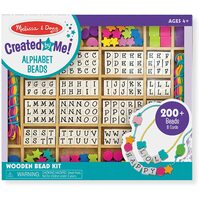 Melissa & Doug - Wooden Stringing Alphabet Beads