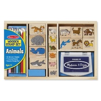 Melissa & Doug - Animal Stamp Set