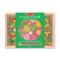 Melissa & Doug - Flower Power Bead Set