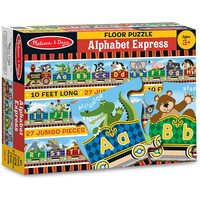 Melissa & Doug - Alphabet Express Floor Puzzle 27pc