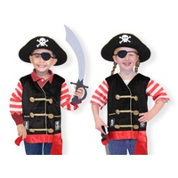 Melissa & Doug - Pirate Role Play Costume Set