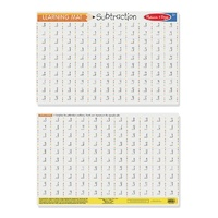 Melissa & Doug - Subtraction Write-A-Mat