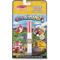 Melissa & Doug - On The Go - Color Blast! - Vehicles