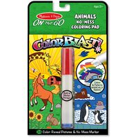 Melissa & Doug - On The Go - Color Blast! - Animals