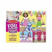 Melissa & Doug - Foil Sticker Pad - Fashion