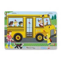 Melissa & Doug - The Wheels on the Bus Sound Puzzle - 6pc