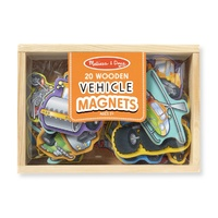 Melissa & Doug - Magnetic Wooden Vehicles
