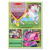 Melissa & Doug - My Horse Clover Magnetic Dress-Up