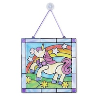 Melissa & Doug - Stained Glass Made Easy - Unicorn