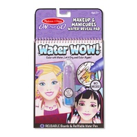 Melissa & Doug - On The Go - Water WOW! - Makeup & Manicures