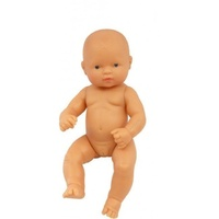 Miniland - Baby Doll European Girl 32cm