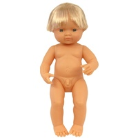 Miniland - Baby Doll European Boy 38cm
