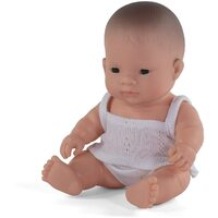 Miniland - Baby Doll Asian Girl 21cm