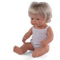 Miniland - Baby Doll European Girl 38cm