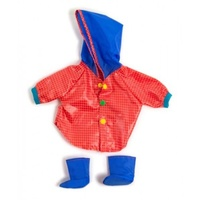 Miniland - 38cm Doll Clothing Set – Raincoat & Wellies