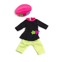 Miniland - 32cm Doll Clothing Set - Stripey Leggings