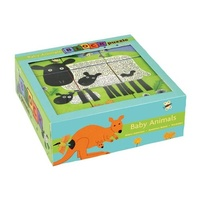 Mudpuppy - Baby Animals Block Puzzle