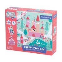 Mudpuppy - Puzzle Play Set - Enchanting Princess