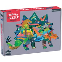 Mudpuppy - Dinosaur Shaped Puzzle 300pc