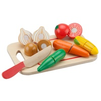 New Classic Toys - Cutting Meal - Vegetables