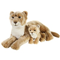 National Geographic - Lioness with Cub Plush Toy 48cm