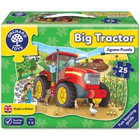 Orchard Toys - Big Tractor Shaped Floor Puzzle - 25pc