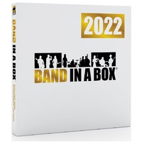 Band in a Box 2021 Pro Windows Upgrade