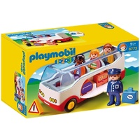 Playmobil - 1.2.3 Airport Shuttle Bus 6773