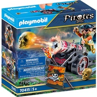 Playmobil - Pirate with Cannon 70415