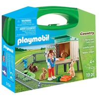Playmobil - Bunny Barn Carry Case 9104