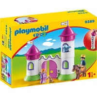 Playmobil - 1.2.3 Castle with Stackable Towers 9389