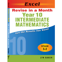 Excel Revise in a Month Intermediate Maths Year 10